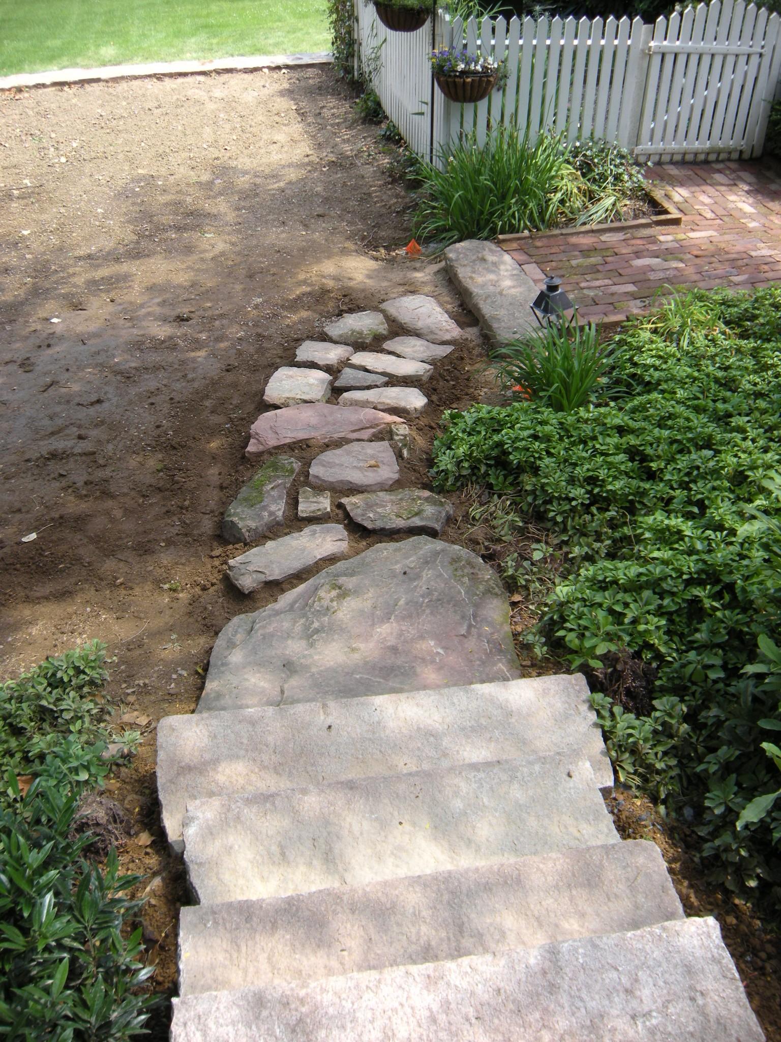 A colonial walkway built in Linglestown, PA.
