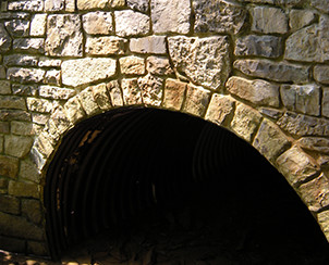 Stone Bridges and Archways by Pyle Bros. Building Stone Contrators